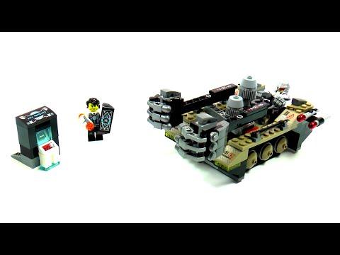 Vidéo LEGO Ultra Agents 70161 : L'attaque du tank