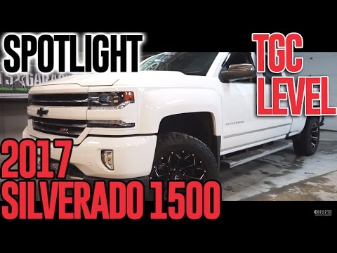 Spotlight - 2017 Silverado 1500, TGC Leveling Kit,  20x10's, And 32's