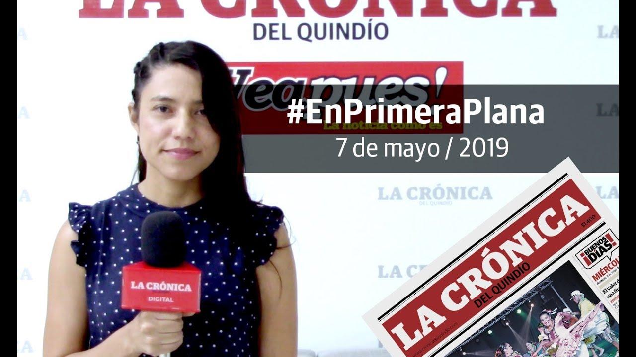 En Primera Plana: lo que será noticia este miércoles 8 de mayo