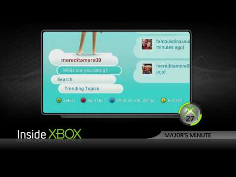 Twitter on XBox LIVE