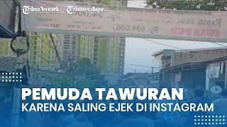Tawuran di Pasar Manggis Gara-gara Saling Ejek di Sosial Media, 13 Orang Ditetapkan Jadi Tersangka