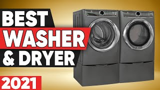 5 Best Washer and Dryer in 2021