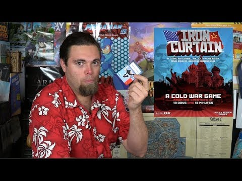 Iron Curtain - Card Game Review