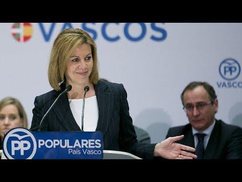 "Cospedal: ""Somos capaces de dar un futuro a España porque tenemos un proyecto de país"""