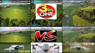 2021 All 3 Best Mini Drones. 3 in 1 Comparison. DJi Mavic Mini 2 vs Fimi Mini x8 vs Hubsan Mini Pro
