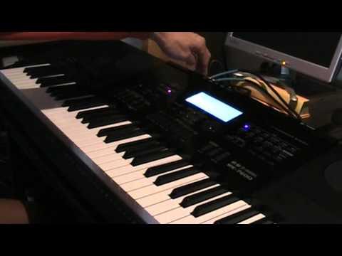 U.S.A. Casio WK 7600/CTK 7200 REVIEW (part2) Piano Sound Testing