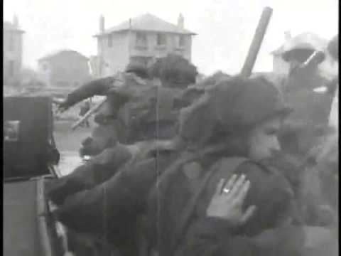 D-Day Footage of Juno Beach