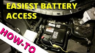 2013 Ford Escape Easy Battery Access: HOW TO ESCAPE