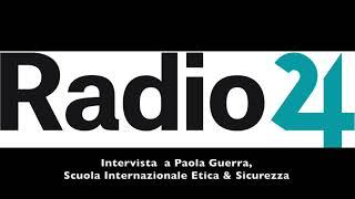 Disastro Pioltello: Radio 24 intervista Paola Guerra