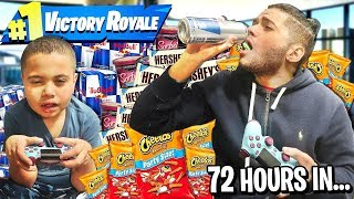 Last To Stop Playing Fortnite Wins $15,000 - Challenge! | MindOfRez