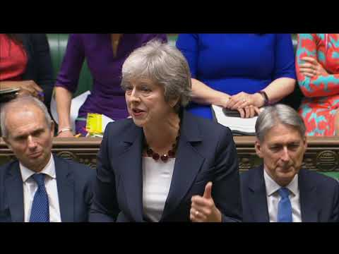 Prime Minister's Questions: 17 October 2018