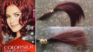 Revlon Burgundy Hair Color Review