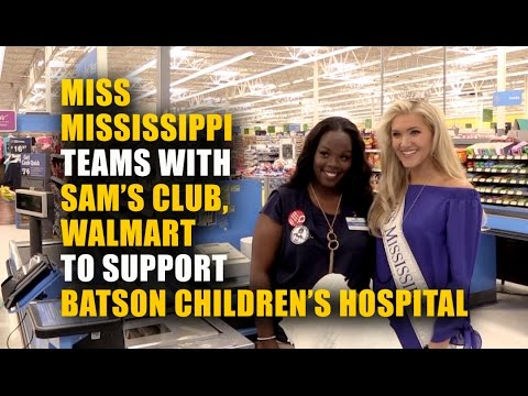 Video: Miss Mississippi thanks Children's Miracle Network Hospitals campaign donors