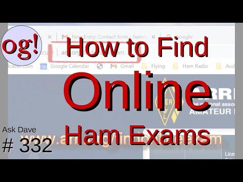 How to Find Online Ham Radio Exams (#332)