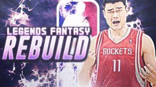 LEGENDS FANTASY DRAFT CHALLENGE! NBA 2K19