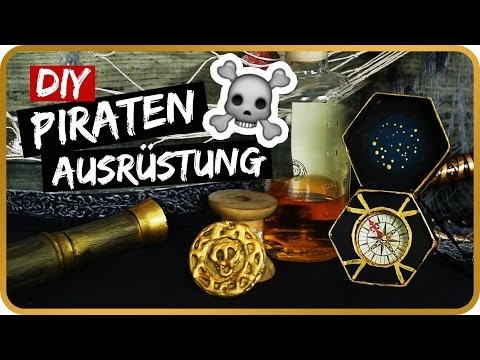 DIY PIRATEN AUSRÜSTUNG Jack Sparrow inspired II Sissi