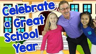 Celebrate a Great School Year | Graduation Song for Kids | Jack Hartmann