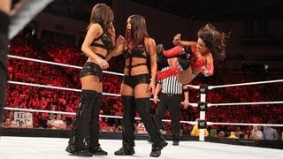 Layla vs. Nikki Bella vs. Brie Bella - Triple Threat Divas