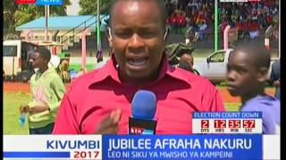 Jubilee holds its final campaigns Nakuru