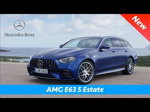 Mercedes AMG E63 S Estate Facelift 2021 - First look | Interior - Exterior, Crazy exhaust sound!!!