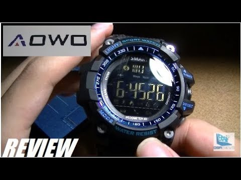 REVIEW: AOWO EX16 Pro X5 - Sport Smartwatch - 2 Year Battery!