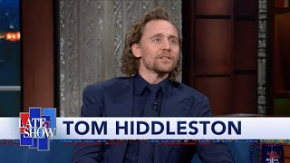 Tom Hiddleston Warms Up For His Broadway Show By Playing 'Big Booty'
