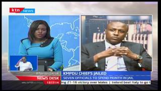 Makueni Senator and KMPDU Advocate-Mutula Kilonzo Junior deciphering the court ruling