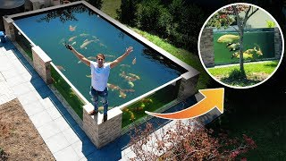This Is WORLDS MOST BEAUTIFUL Backyard KOI POND! BIG REVEAL