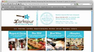 Larkspur Logo Design, Brand Identity And Website Design By Tracy Holdeman & InsightDesign.com