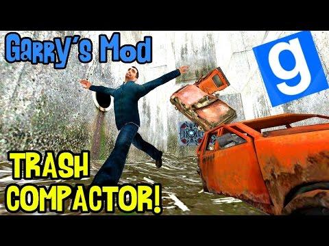 Garry's mod (Z kumplami) #148 - Trash Compactor! | Tak się bawią śmieciarze! /Zagrajmy w