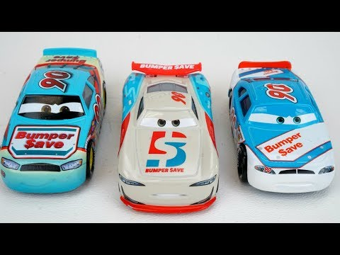 New Cars 3 Bumper Save Racer Old School Vs Next Gen Piston Cup Racers