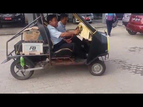 Video Modifikasi Mobil pakai Mesin Motor Honda Beat