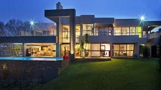 Stunning Modern Luxury Residence in Johannesburg, South Africa