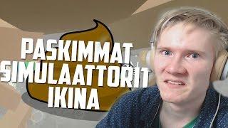 PASKIMMAT SIMULAATTORIT IKINÄ | Oudot Pelit #9