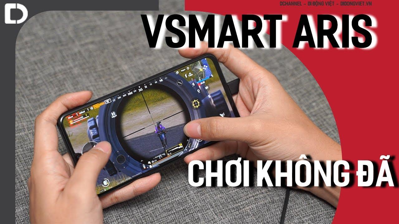Chơi PUBG, COD trên Vsmart Aris dùng Snapdragon 730 có yếu?