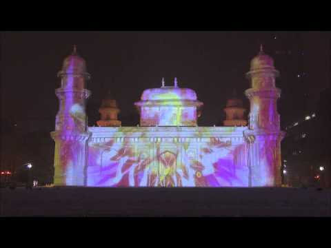 65th Sapporo Snow Festival - HTB Snow Square Projection Mapping