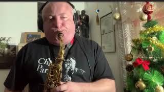 "Robert Anchipolovsky on his 10MFAN Showboat alto sax mouthpiece. ""Imagination"""