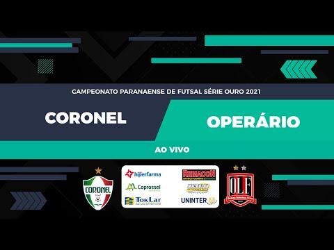 Operário Laranjeiras x Coronel Futsal Campeonato Paranaense Chave Ouro