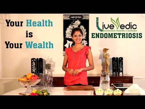 Video DIY: Natural Home Remedies to Cure Endometriosis  | LIVE VEDIC