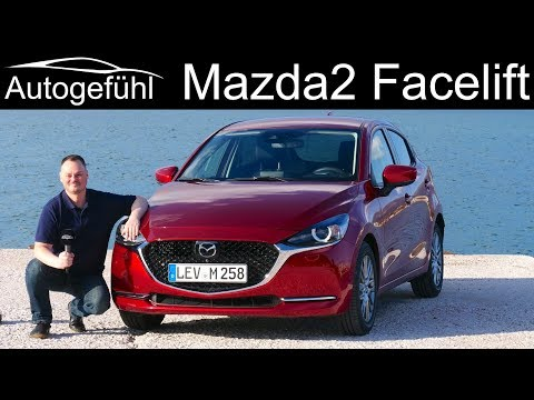 Mazda2 Facelift FULL REVIEW 2020 MHEV EU - Autogefühl