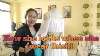 How She Looks Wearing This... (Greek Goddess Costume)