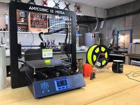 BEST BEGINNER 3D PRINTER? - Anycubic i3 MEGA VS CR-10 - Honest Review