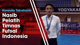Nasib Pelatih Timnas Futsal Indonesia Kensuke Takahashi