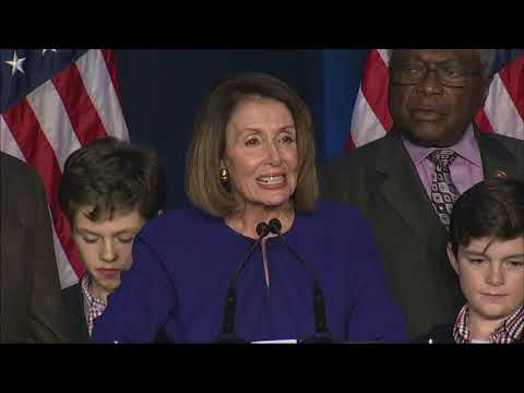The Democrats appeared close to taking back the House on Tuesday in a victory that could slap a check on President Donald Trump's agenda over the next two years and lead to a multitude of investigations into his business dealings and his administration. (Nov. 6)