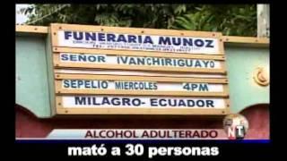 No-ticias ecuavisa- Ñaño toma agua, deja la bebida