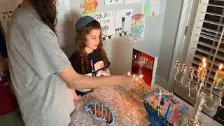 Hanukkah, The Fifth Night, Lighting the Menorah with Rav Dror