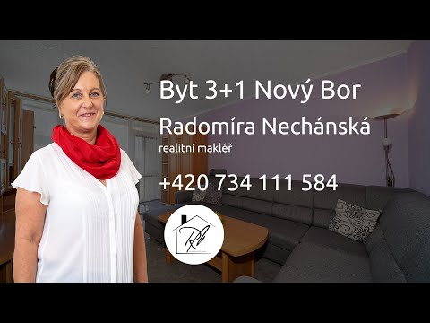 Prodej bytu 3+1 67 m2 Husova, Nový Bor