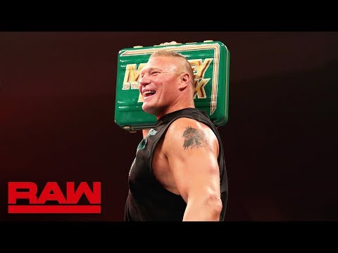 Download Brock Lesnar celebrates his Money in the Bank contract win: Raw, May 20, 2019 HD Mp4 3GP Video and MP3