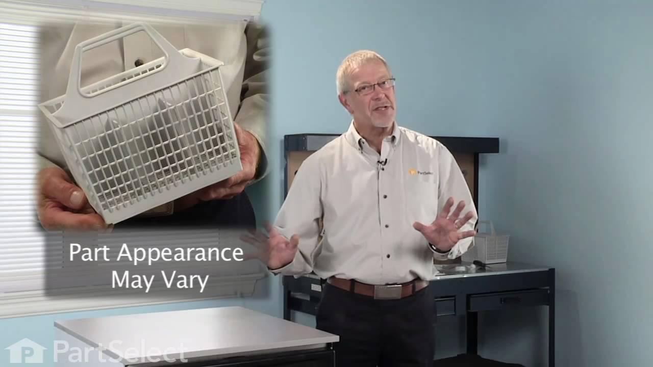 Replacing your General Electric Dishwasher Silverware Basket