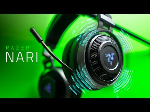This Headset VIBRATES!  Razer Nari Ultimate Gaming Headset